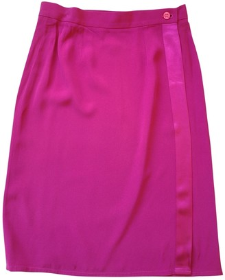 Saint Laurent Pink Skirt for Women Vintage