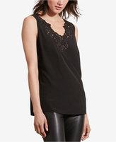 Lauren Ralph Lauren Lace-Trim Tank Top