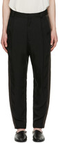 Robert Geller Black Casper Trousers
