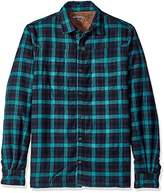 Threads 4 Thought Men's Sherpa Lined Plaid Shirt Jacket