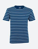 Fat Face Indigo Multi Stripe T-Shirt
