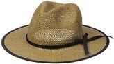 San Diego Hat Company Women's Open-Weave Panama Sun Hat