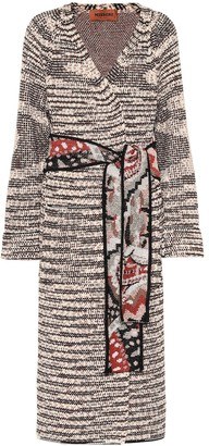 Missoni Wool-blend wrap cardigan