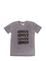 Armani Junior Washed Jersey T-Shirt