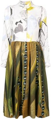 Sara Roka Printed Shirt Dress
