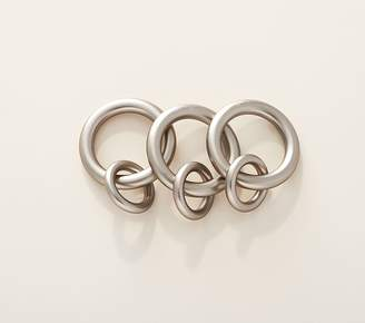 Pottery Barn Kids Metal Double Rings