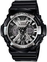 G-Shock Men's Analog-Digital Black Resin Strap Watch 53mm GA200BW-1A