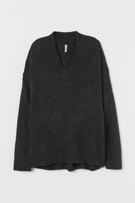 H&M Oversized Sweater - Black