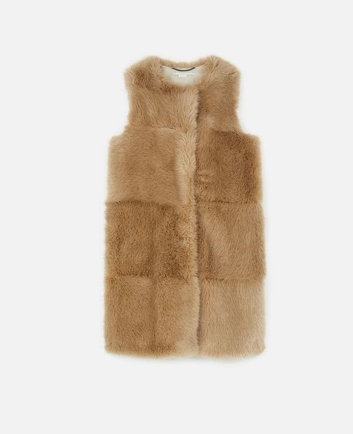 Stella McCartney Dover FUR FREE FUR Vest, Women's
