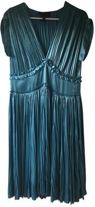 Derek Lam Blue Silk Dress for Women