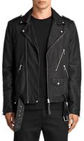 AllSaints Torrance Leather Biker Jacket, Black