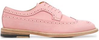 Paul Smith lace up perforated detail brogues