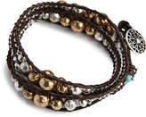 Lucky Brand Metal Wrap Bracelet