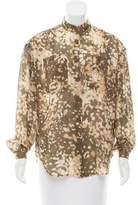 Stella McCartney Silk Oversize Blouse