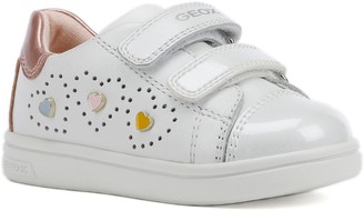 Geox DJ Rock 18 Metallic Low Top Sneaker