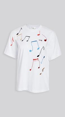 Victoria Victoria Beckham Music Note T-Shirt