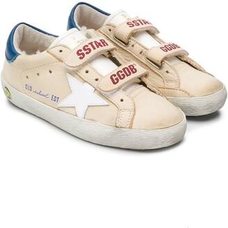 Golden Goose Kids Old School flat sneakers