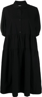 Henrik Vibskov Black Mid-Length Dress