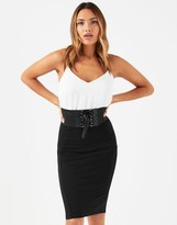 Lipsy Corset Belt Pencil Skirt