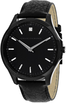 Giorgio Armani Exchange Hampton AX2171 Men's Black Stainless Steel Watch with Diamond Accents