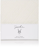 PetitPehr Pin-Dot Cotton Changing Pad Cover