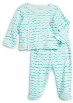 Infant Rosie Pope Kimono Top & Footed Pants Set