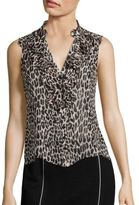 Nanette Lepore Tiramisu Silk Top