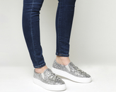 Office Finland Embellished Slip On Trainers