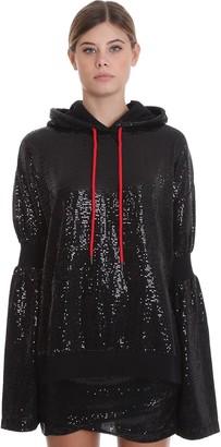 Marcelo Burlon County of Milan Sweatshirt In Black Cotton