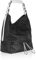 Karl Lagerfeld Textured-leather shoulder bag