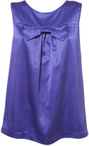 Satin Bow Shell Top