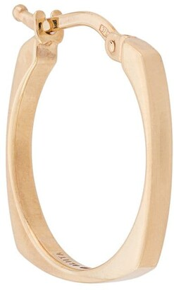 ALIITA 9kt yellow gold hoop earrings