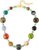 Jose & Maria Barrera Short Single-Strand Mixed-Bead Necklace