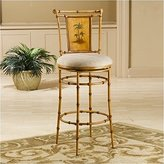 Hillsdale West Palm Swivel Counter Stool In Burnished Brown