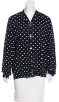 Comme des Garcons Polka Dot Embroidered Cardigan