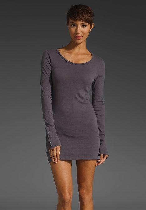 Velvet Essential Jersey Classics Ganet Long Sleeve Dress
