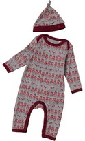 French Connection Baby Girls Romper Set Vintage Grey Heather