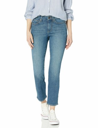 Goodthreads Mid-rise Slim Straight Jeans Authentic Blue 26