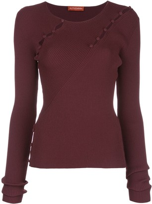Altuzarra Margie ribbed-knit jumper