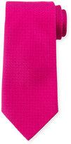 Charvet Textured Silk Tie, Pink