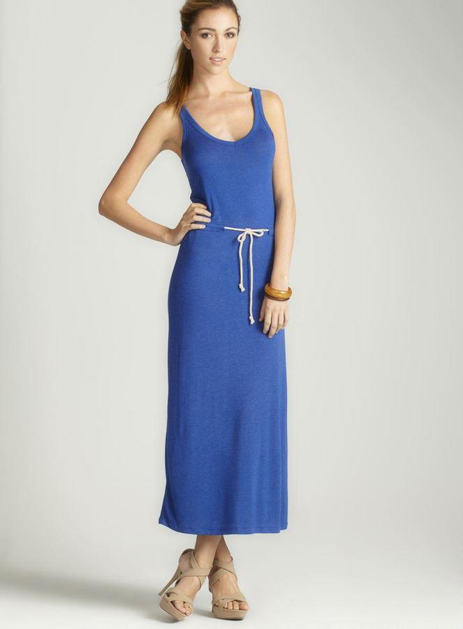 Anama Drawstring Maxi Dress