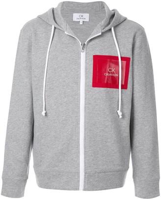 CK Calvin Klein zip-up hoodie
