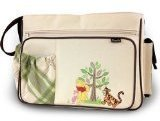 Disney Winnie The Pooh Piglet & Tigger Baby Large Shoulder Tote Travel Diaper Bag Unise by