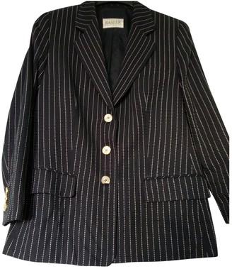 Basler Navy Wool Jacket for Women Vintage