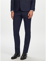 J. Lindeberg Soft Comfort Wool Slim Fit Suit Trousers, Navy