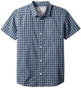 Quiksilver Sun Rythm Short Sleeve Top Boy's Short Sleeve Button Up