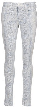Cimarron LANA INDIGO SNAKE women's Skinny Jeans in Grey