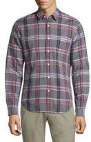 Theory Rammy Linen Shirt