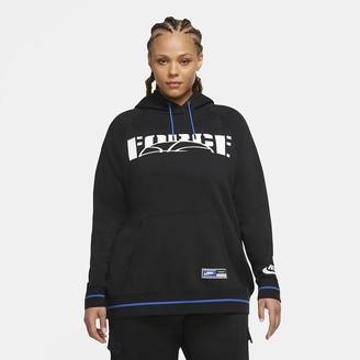 Nike Women's Pullover Hoodie (Plus Size Sportswear Essential