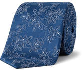 Simon Carter Henna Floral Tie
